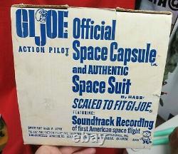 1964 Vintage Gi Joe Joezeta Dual Language French Canadian Space Capsule Boxed