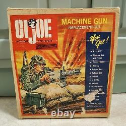 1964 Vintage HASBRO GI JOE TM 1965 Machine Gun Emplacement Boxed Set
