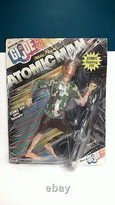 1975 Hasbro Gi Joe Adventure Team Mike Power Atomic Man New