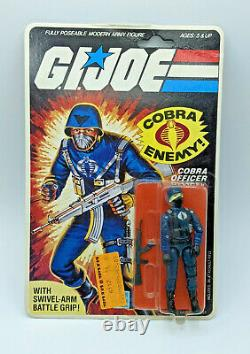 1982 1983 Vintage ARAH GI Joe Cobra Officer MOC Swivel Arm Version 1.5 Authentic
