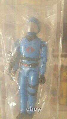 1982 Hasbro Gi Joe Cobra Commander V2 Logo Afa U90