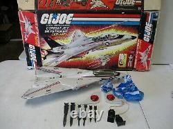 1983 GI Joe Combat Jet Skystriker XP-14F with Box