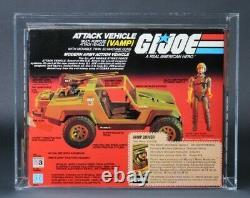 1983 Hasbro GI Joe Series 2 VAMP Swivel Arm AFA 80 + Plus MISB Factory Sealed