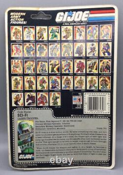 1985 Hasbro GI Joe ARAH Sci-Fi 3.75 Action Figure MOC