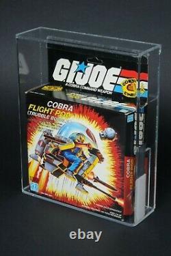 1985 Hasbro GI Joe Series 4 Cobra Flight Pod Trubble Bubble AFA 90 MISB Sealed