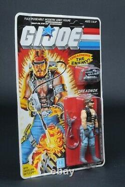 1985 Hasbro GI Joe Series 4 Dreadnok Torch 36 Back MOC Sealed Unpunched