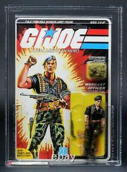 1985 Hasbro GI Joe Series 4 Flint 34 Back AFA 80 C80 B85 F85 MOC