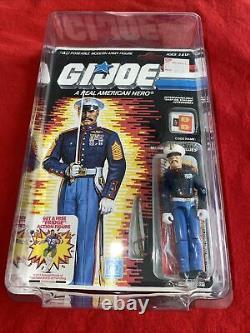 1987 GI JOE GUNG-HO v2 MARINE DRESS BLUES CARDED MOC STAR CASE