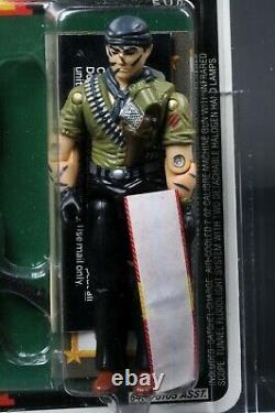 1987 Hasbro GI Joe Series 6 Tunnel Rat AFA 85 C85 B80 F85 MOC Unpunched