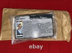 1988 GI JOE SUPER TROOPER v1 100% COMPLETE MISB WITH FILE CARD AND MAILER BAG