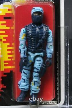 1988 Hasbro GI Joe Series 7 Shockwave AFA 85 C90 B85 F90 MOC