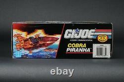 1990 Hasbro GI Joe Series 9 Cobra Piranha MISB Unopened Factory Sealed