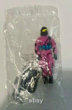 1993 GI Joe CREATE A COBRA MISB New Sealed Figure, Gun, Stand ARAH Mail Away
