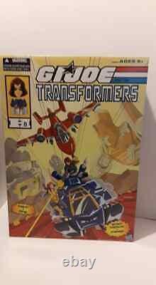 2016 Sdcc Exclusive Hasbro Transformers Vs Gi Joe Powerglide Soundwave Zartan