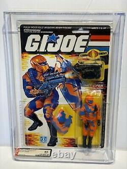 AFA 85 G I JOE Hasbro 1989 Series 8 Alley Viper 34-back C85 B85 F85 NM+ Mint