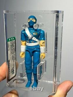 AFA U85 G I JOE Hasbro 1992 Cobra Ninja Viper Loose Complete No Swords NM+