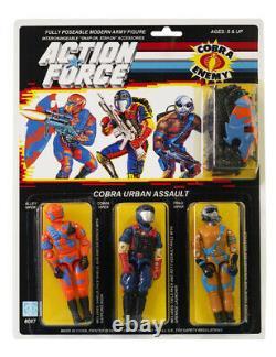 Action Force / GI Joe Cobra Urban Assault MOC Carded Custom