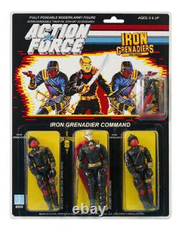 Action Force / GI Joe Iron Grenadier Command MOC Carded Custom