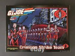 Action Force/GI Joe Joecon Exclusive Crimson Strike Team 15 figure Set 2002 Rare