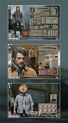 CCTOYS 1/6 The Last of Us 2 ELLI JOE CLICKER Action Figure Set Model Toy