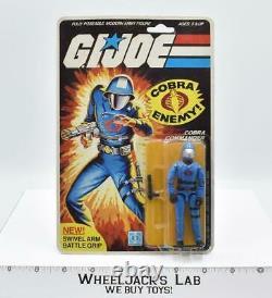 Cobra Commander Sealed MOSC 20 Back 1983 GI Joe Hasbro Vintage Action Figure