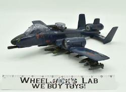 Cobra Rattler Ground Attack Jet 100% Complete 1984 G. I. Joe Vehicle Vintage