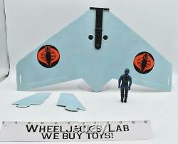 Cobra Viper Glider WithViper Pilot Complete 1983 GI Joe ARAH Action Figure Vehicle