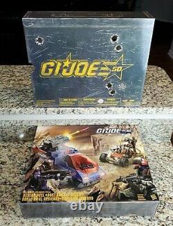 Desert Duel SDCC Exclusive GI JOE COBRA 25th 50th Anniversary Hasbro MIB