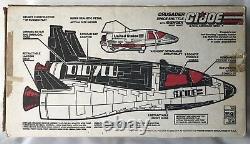G I JOE ARAH Crusader Space Shuttle 1987 Hasbro with original box