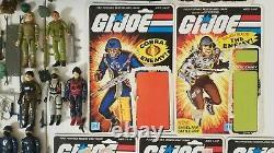 G. I. JOE Vintage lot Action FiguresSnake EyesScarlettStalkerZapCobraHASBRO