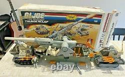 GI JOE, Action Force Thunderclap vehicle with box, 1980s