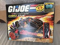 GI JOE Cobra STUN withMotor Viper MIB Vintage 1986 Unassembled New 3 3/4 ARAH