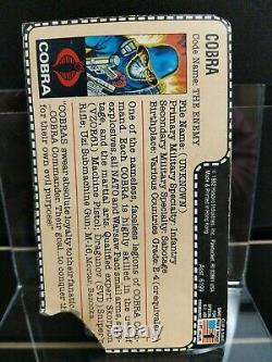 GI Joe 1982 JC Penney/Mont Ward Exclusive Cobra Soldier Light Green Bazooka, Red