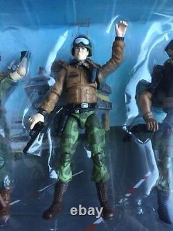GI Joe 25th ANNIVERSARY 3.75 Figure Set Complete NRFB Rare 2009 Box Set 5-Pack