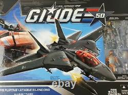 GI Joe 50th Anniversary Silent Strike Skystriker HISS Tank Ace Sightline Driver