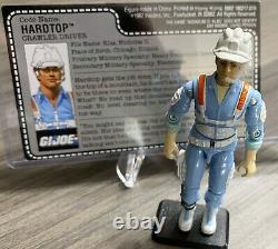 GI Joe ARAH 1987 Hardtop Payload Umbilical Cord Defiant Lot MINTY