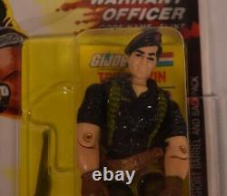 GI Joe ARAH Flint Warrant Officer Action Figure Hasbro 1985 AFA 80+