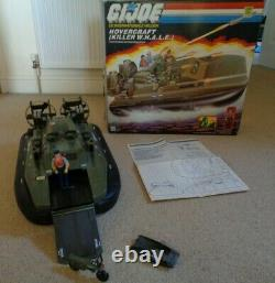 GI Joe Action Force 1984 Killer Whale & Cutter 100% complete Rare Dutch Box