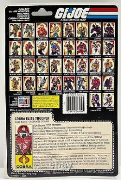 GI Joe CRIMSON GUARD 1985 MOC MOSC Hasbro Vintage Factory Sealed Action Figure