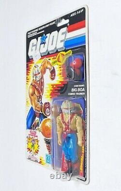 GI Joe Cobra BIG BOA 1987 MOC MOSC Hasbro Vintage Factory Sealed Action Figure