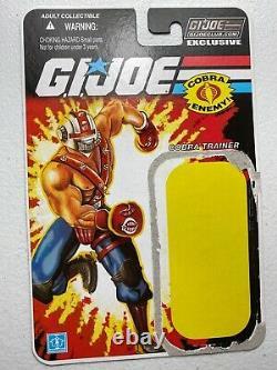 GI Joe Cobra Club FSS 1.0 Subscription 2013 Figure Lot Cobra Trainer Big Boa