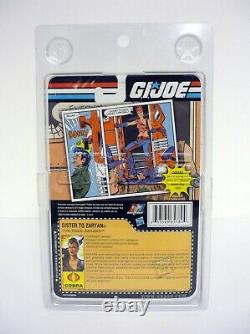 GI Joe Cold Slither Zarana 25th SDCC Exclusive Action Figure Complete C9+ 2011