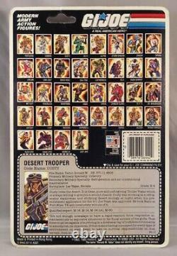GI Joe DUSTY DESERT TROOPER 1985 v1 MOSC 100% Complete Sealed ARAH MOC