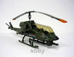 GI Joe Dragonfly Helicopter Vintage Action Figure Vehicle Complete & Works 1983