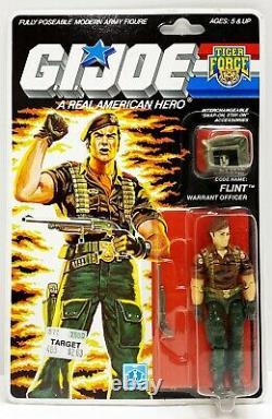 GI Joe FLINT Tiger Force 1988 MOC Hasbro Vintage Factory Sealed Action Figure