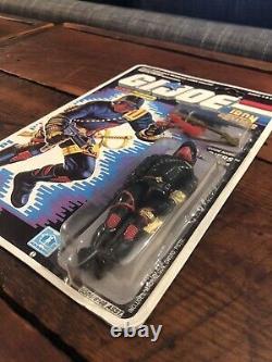 GI Joe Iron Grenadiers 3.75 Action Figure 1987 MOC Carded Cobra Vintage O-Ring