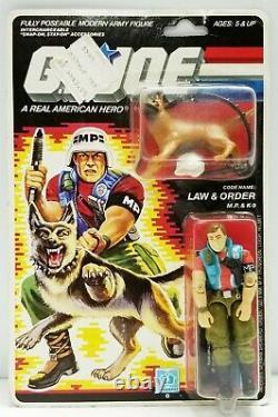 GI Joe LAW & ORDER 1987 MOC MOSC Hasbro New Vintage Factory Sealed Action Figure
