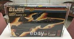 GI Joe Original Vintage 1986 NIght Raven MISB SEALED AFA 50