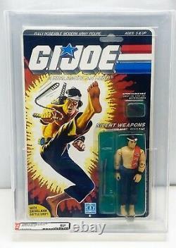 GI Joe QUICK KICK 1985 MOC MOCS AFA 80 Vintage New Factory Seale Action Figure