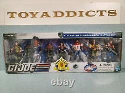 GI Joe SLAUGHTER'S MARAUDERS Battle Set 7-Pack Big Bad Toy Exclusive Hasbro New